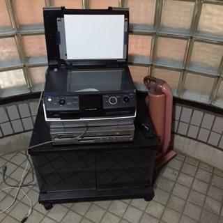 プリンター・DVDプレーヤー・掃除機