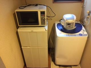 冷蔵庫・洗濯機・電子レンジ・炊飯器