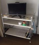 液晶テレビ・ワゴンラック